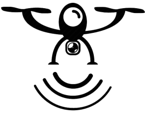 autonomous flying icon