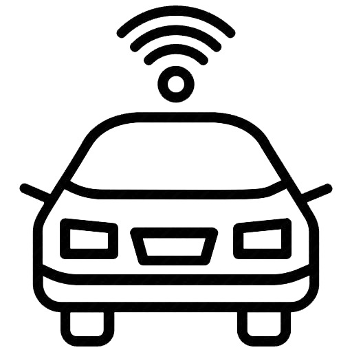 self driving icon