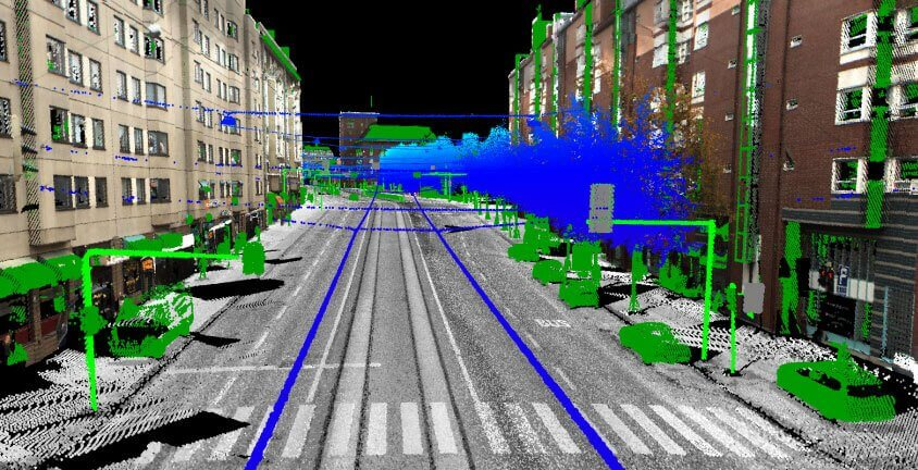 3D point cloud annotation for object detection
