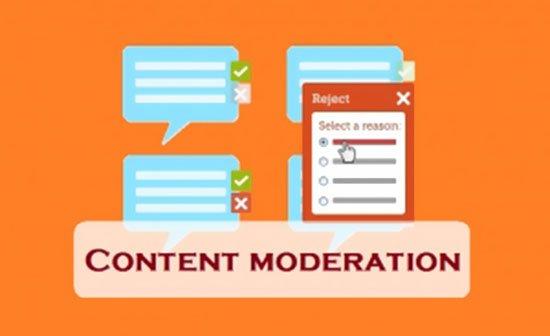 Content Moderation services