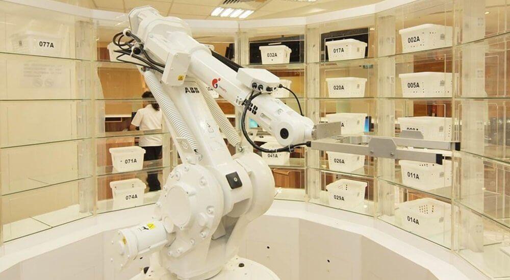 Robotics for Prescription Dispensing Systems