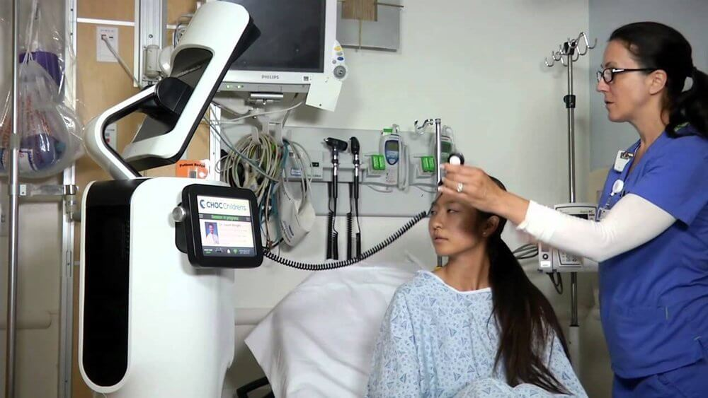 Robots Used as Telepresence Physicians