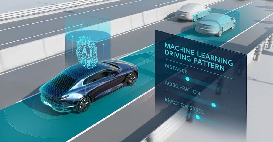 Machine Learning Driving