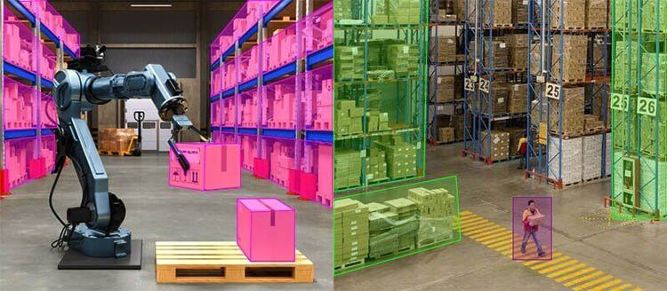 AI Robotics at Warehouses